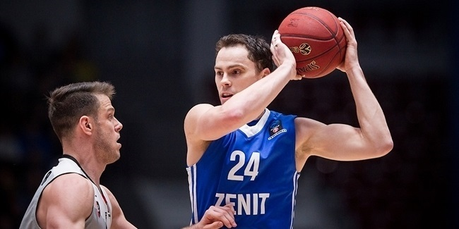 7DAYS EuroCup Top 16 MVP: Kyle Kuric, Zenit St. Petersburg