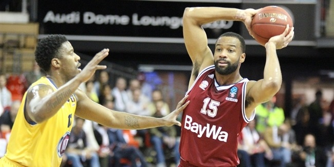 7DAYS EuroCup, Top 16, Round 5: FC Bayern Munich vs. Fiat Turin