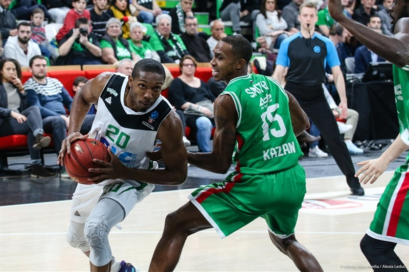Demarcus Nelson - ASVEL Villeurbanne (photo Asvel - infinity Nine Media - Alexia Leduc) - EC17