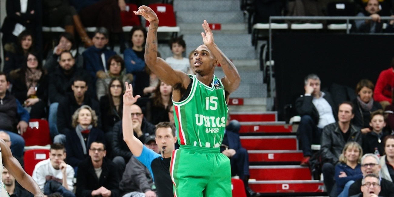Jamar Smith - UNICS Kazan (photo Asvel - infinity Nine Media - Alexia Leduc) - EC17