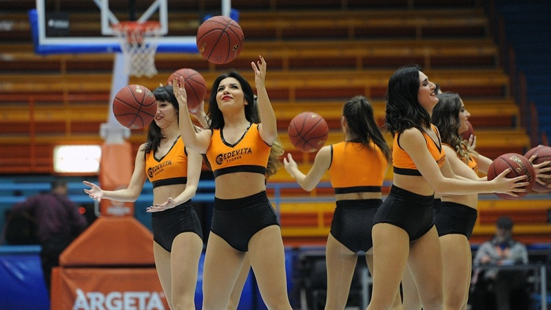 Cheerleaders - Cedevita Zagreb (photo Cedevita) - EC17