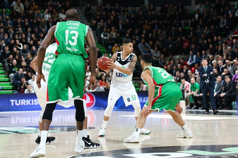 AJ Slaughter - ASVEL Villeurbanne (photo Asvel - infinity Nine Media - Alexia Leduc) - EC17