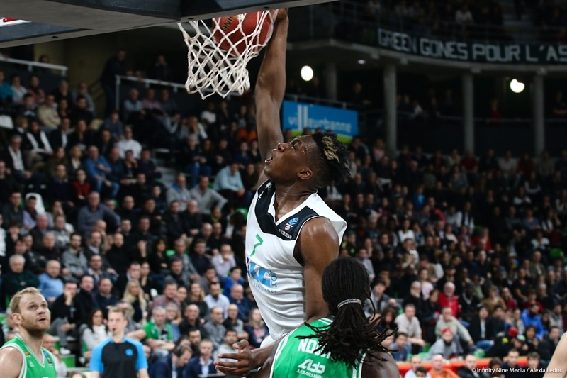 Alpha Kaba - ASVEL Villeurbanne (photo Asvel - infinity Nine Media - Alexia Leduc) - EC17