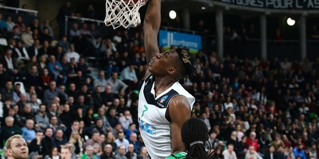 ASVEL losses center Kaba to elbow injury