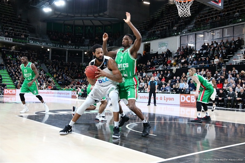 Darryl Watkins - ASVEL Villeurbanne (photo Asvel - infinity Nine Media - Alexia Leduc) - EC17