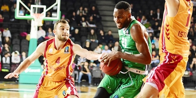 7DAYS EuroCup, Top 16, Round 5: Darussafaka Istanbul vs. Galatasaray Odeabank Istanbul