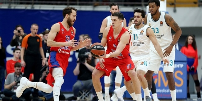 RS Round 21: CSKA Moscow vs. Real Madrid