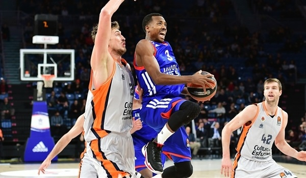 RS Round 21 report: McCollum shines as Efes downs Valencia