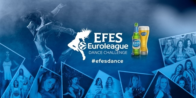 Get ready for the EFES Euroleague Dance Challenge