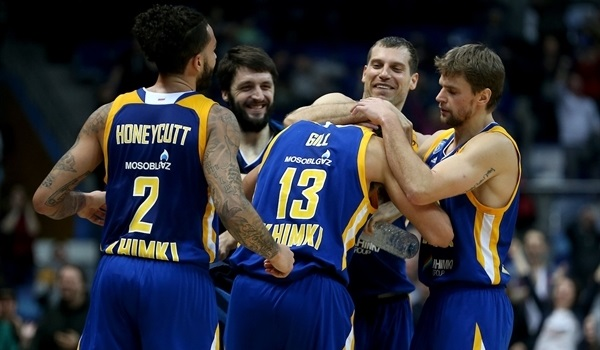 RS Round 21 report: Gill's tip-in lifts Khimki past Unicaja at the buzzer!