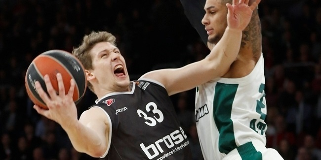 Bamberg's Heckmann out for the season