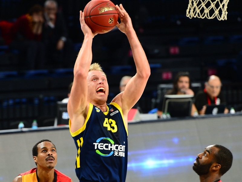 Luke Sikma - ALBA Berlin (photo Galatasaray - Ali Kemertas) - EC17