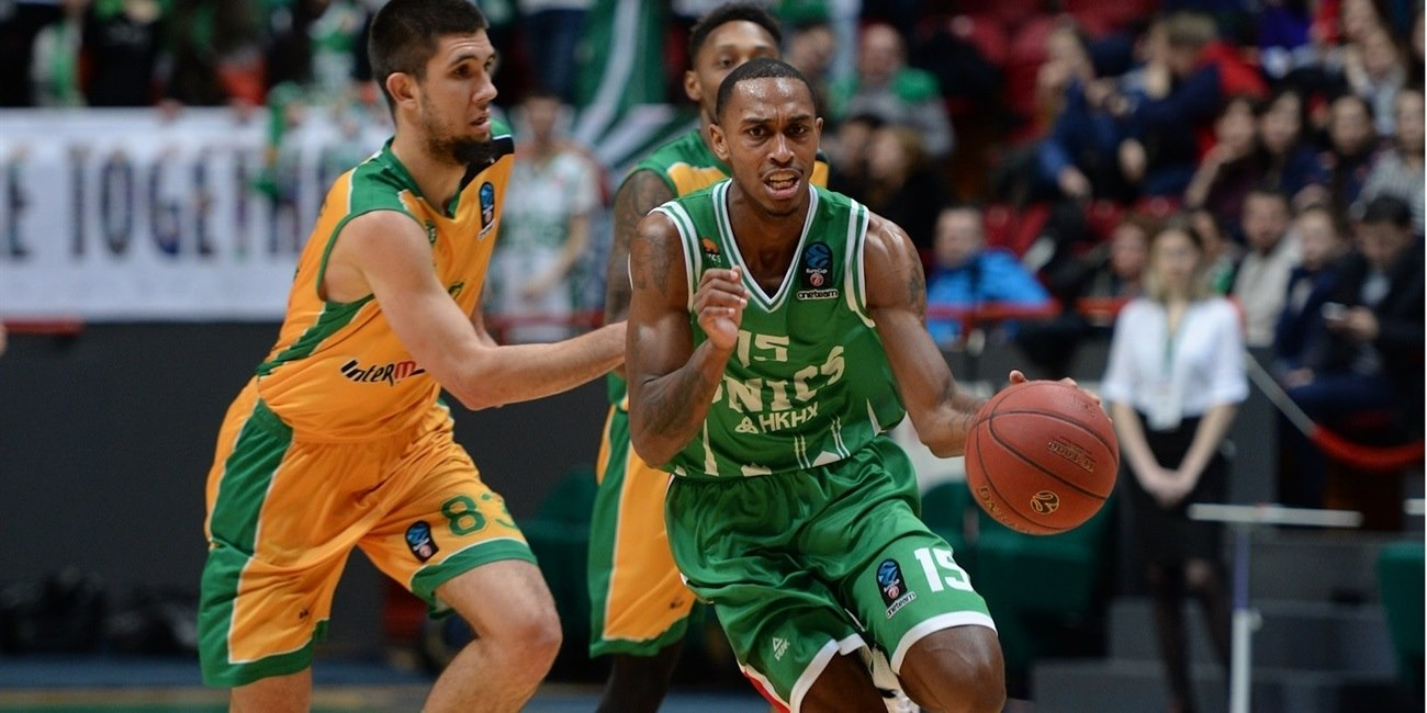 Jamar Smith - UNICS Kazan (photo UNICS) - EC17