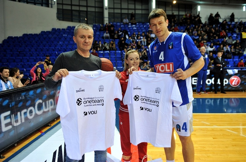 Suad Sehovic in suport One Team program - Buducnost VOLI Podgorica (photo Savo Prelevic - Buducnost) - EC17