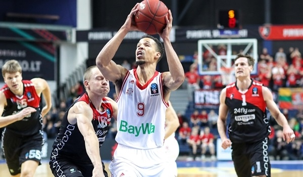 Top 16, Round 6: Cunningham leads Bayern to Vilnius victory