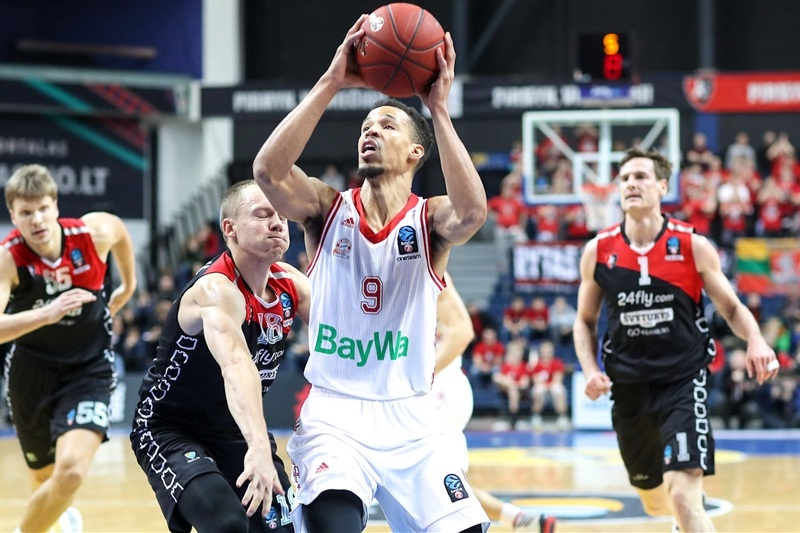 Jared Cunningham - FC Bayern Munich (photo Rytas) - EC17