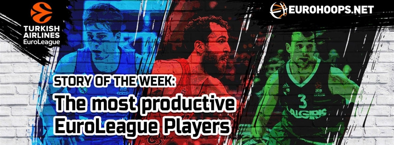 The most productive EuroLeague players!