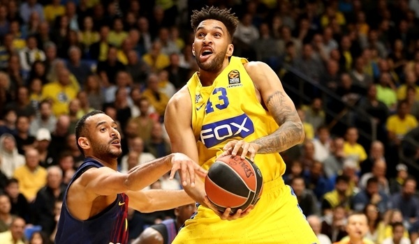 RS Round 22 report: Jackson shines late to lift Maccabi over Barcelona