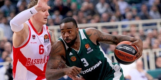 RS Round 22: Panathinaikos Superfoods Athens vs. Baskonia Vitoria Gasteiz