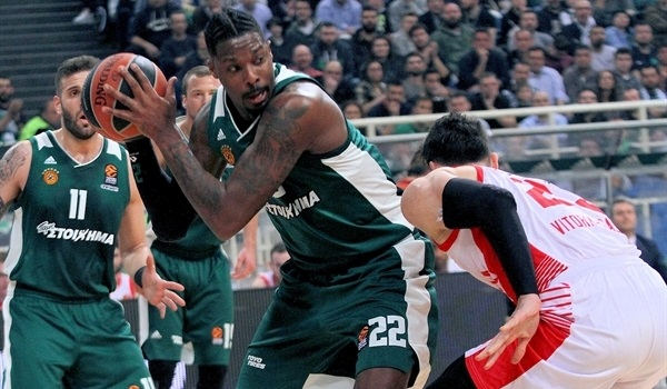 RS Round 22 report: Gabriel sparks Panathinaikos past Baskonia