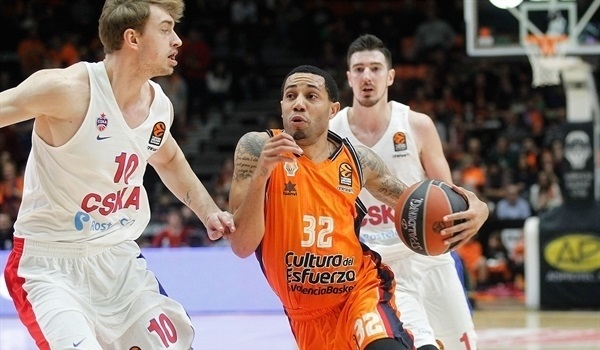 RS Round 22 report: Valencia holds off CSKA in a thriller