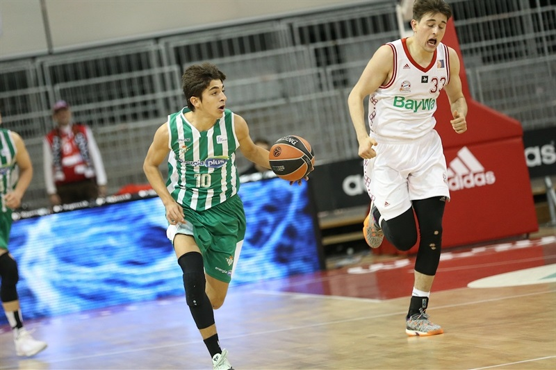 Raul Postigo - U18 Real Betis Energia Plus Seville - ANGT Munich 2018 (photo Stickel - FCBB) JT17