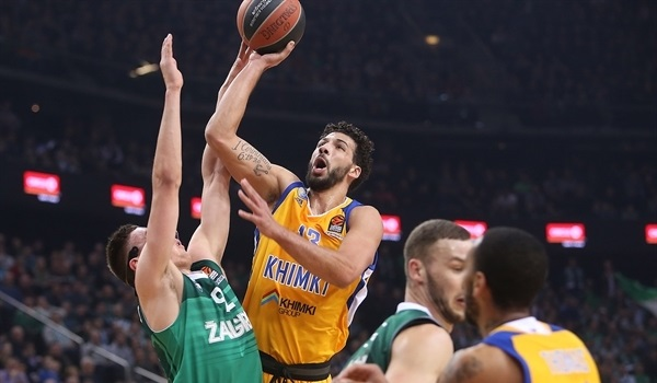 RS Round 22 report: With second-quarter surge, Khimki ambushes Zalgiris