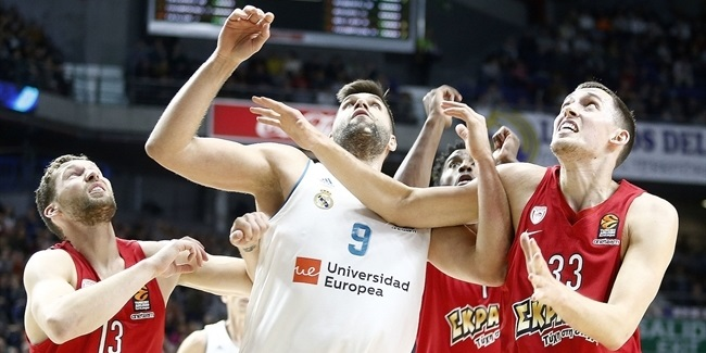 RS Round 22: Real Madrid vs. Olympiacos Piraeus