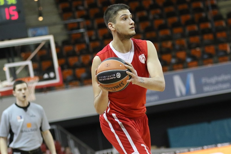 Andreas Tsoumanis - U18 Olympiacos Piraeus - ANGT Munich 2018 (photo Stickel - FCBB) JT17