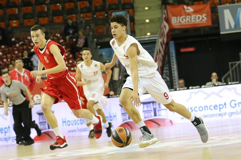 Joshua Obiesie- U18 Brose Bamberg - ANGT Munich 2018 (photo Stickel - FCBB) JT17