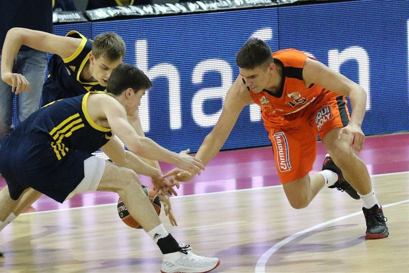Mate Fazekas - U18 ratiopharm Ulm - ANGT Munich 2018 (photo Matthias Stickel - FCBB) JT17