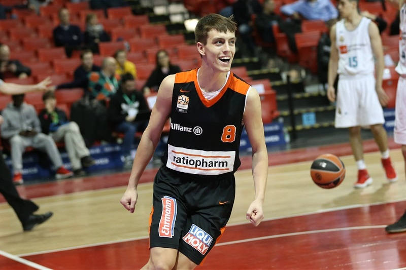Zachary Ensminger - U18 ratiopharm Ulm - ANGT Munich 2018 (photo Matthias Stickel - FCBB) JT17