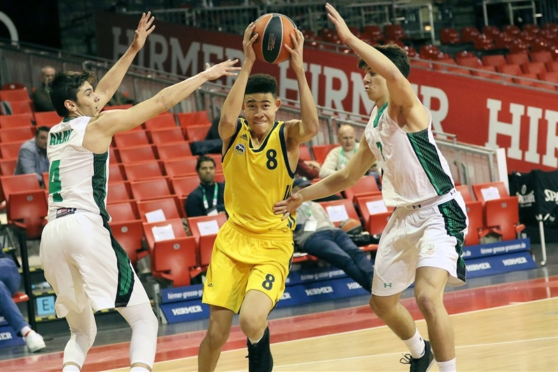Evans Rapieque - U18 ALBA Berlin - ANGT Munich 2018 (photo Matthias Stickel - FCBB) JT17