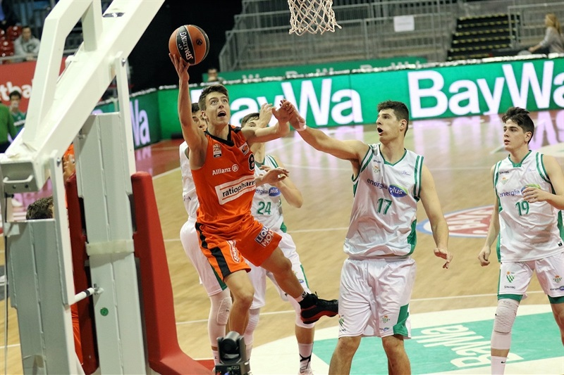 Zachary Ensminger- U18 ratiopharm Ulm - ANGT Munich 2018 (photo Matthias Stickel - FCBB) JT17