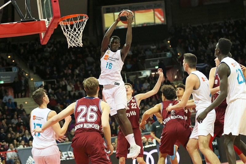 Usman Garuba - U18 Real Madrid - ANGT Munich 2018 (photo Matthias Stickel - FCBB) JT17