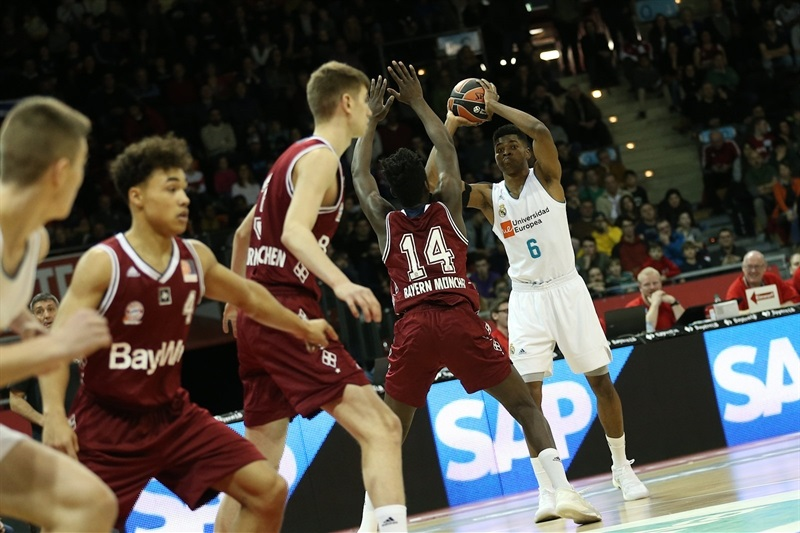Heritier Ngalamulume - U18 Real Madrid - ANGT Munich 2018 (photo Matthias Stickel - FCBB) JT17