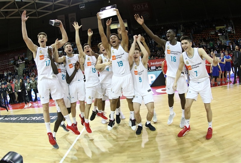 U18 Real Madrid champ ANGT Munich 2018 - ANGT Munich 2018 (photo Matthias Stickel - FCBB) JT17