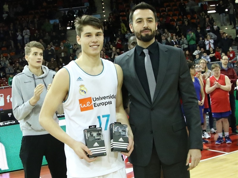 Mario Nakic, MVP - U18 Real Madrid - ANGT Munich 2018 (photo Matthias Stickel - FCBB) JT17