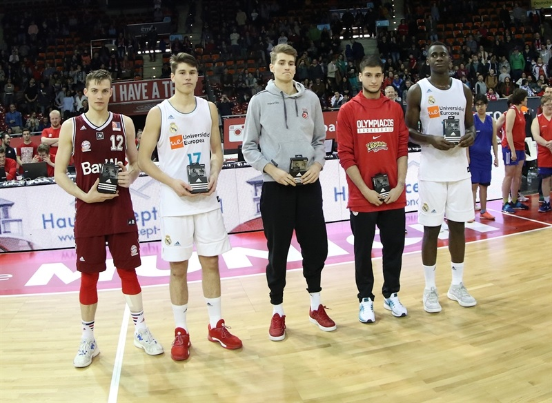 All-tourney team - ANGT Munich 2018 (photo Matthias Stickel - FCBB) JT17