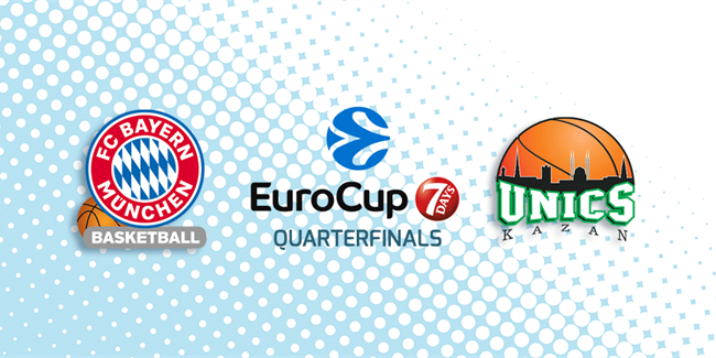 Series Breakdown, Quarterfinal B: FC Bayern Munich vs. UNICS Kazan