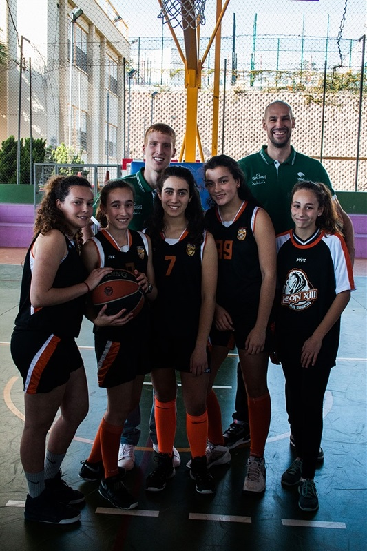 Diaz, Augustine give students a high school experience in Malaga