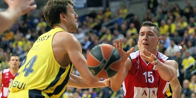 RS Round 23: Fenerbahce Dogus Istanbul vs. AX Armani Exchange Olimpia Milan