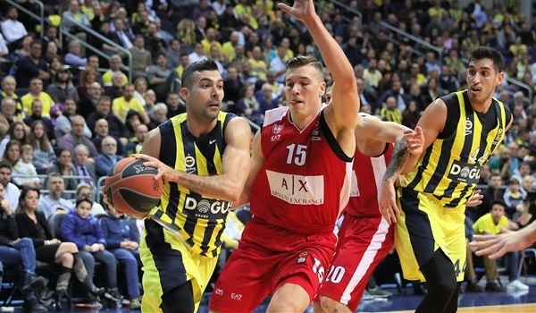 RS Round 23 report: Fenerbahce tops Milan for a fifth straight home win