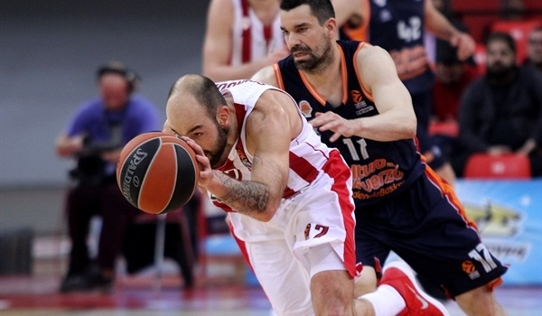 RS Round 23 report: Spanoulis masterclass leads Olympiacos past Valencia