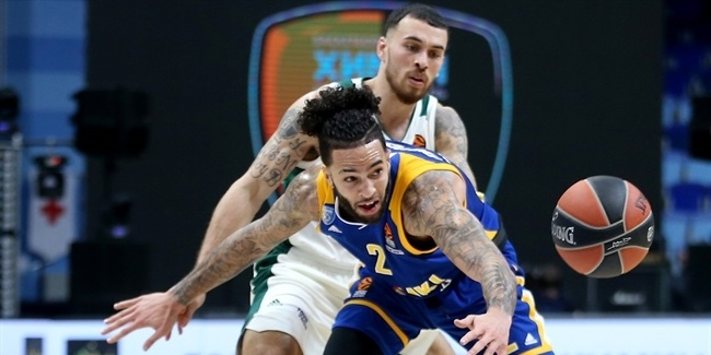 RS Round 23: Khimki Moscow Region vs. Panathinaikos Superfoods Athens