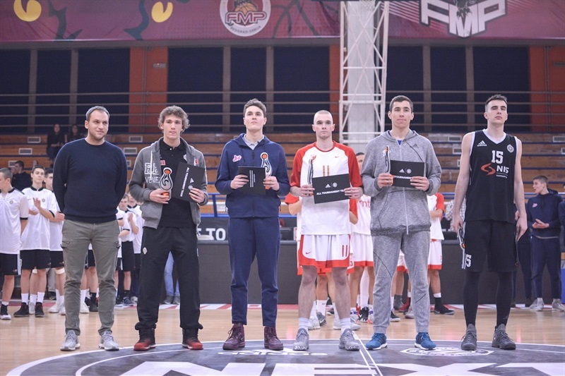 All-Tournament Team - ANGT Belgrade 2018 - JT17