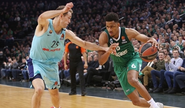 RS Round 24 report: Toupane, Pangos lead Zalgiris to 15th win