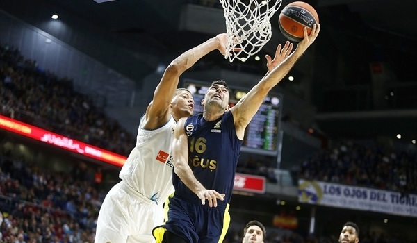 RS Round 24 report: Sloukas shines, Fenerbahce downs Madrid