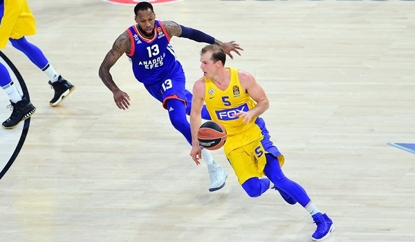 RS Round 25 report: Jackson, Roll shoot Maccabi past Efes