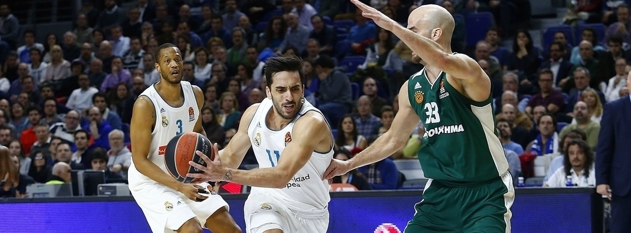 Madrid's Campazzo out for playoffs with knee injury